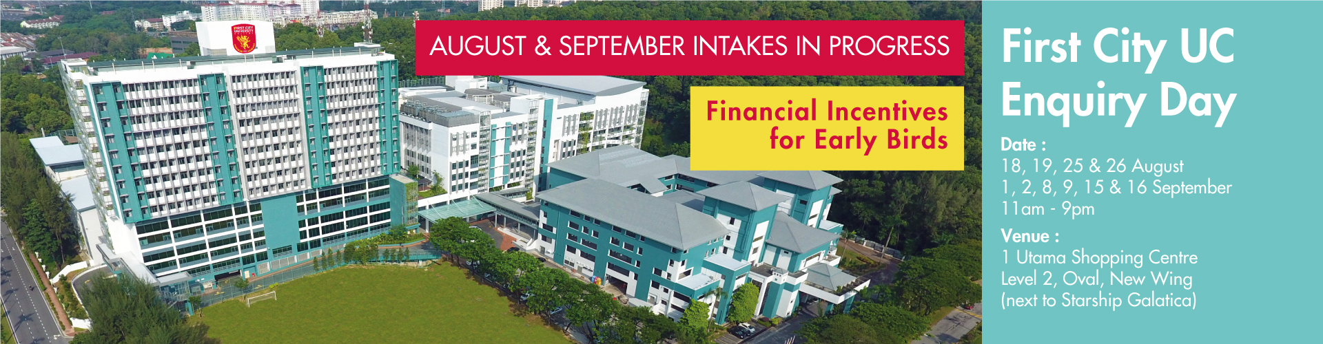 coursesmalaysia-institution-firstcityuc-enquiryday-banner-2018