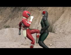 Power Ranger vs Kamen Rider Black RX - 3d Animation ( Parody!!)